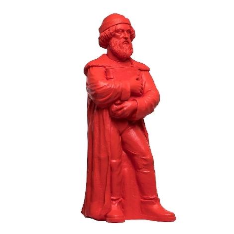 Johannes Gutenberg - 2018 - rot