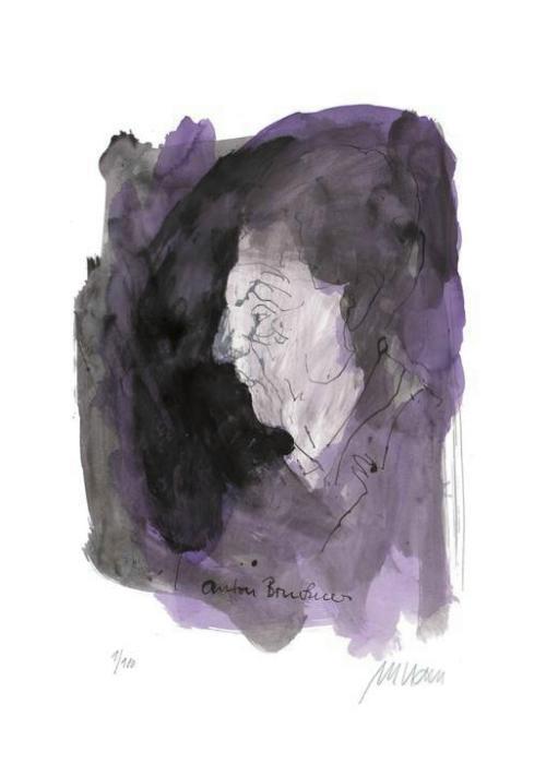 Porträt - Anton Bruckner