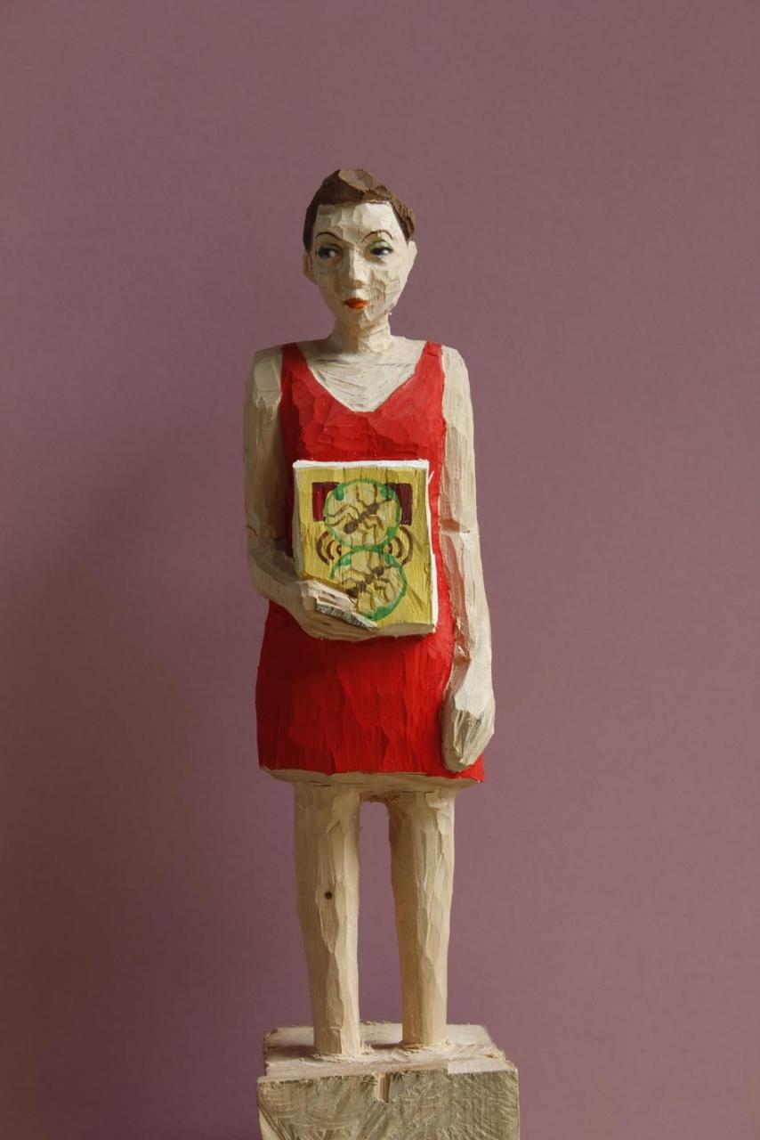 Edeka Frau (831) mit Ameisen
