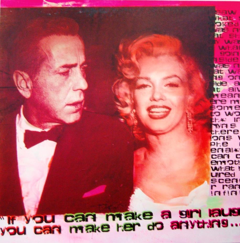 Marilyn Unikat (With Bogart)