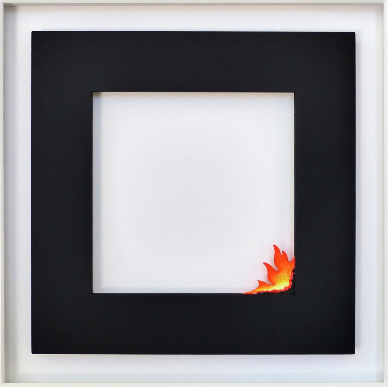 Feuer im Rahmen