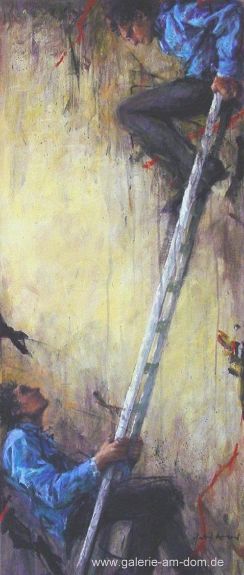 Leiter oben - Leiter unten