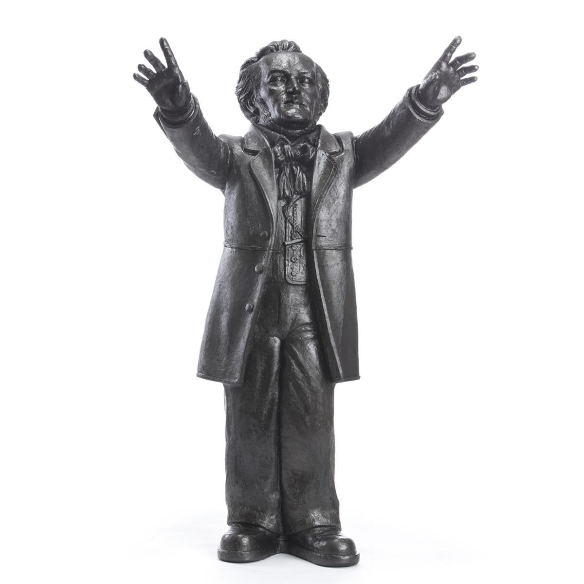 Richard Wagner (aus der Installation) - bronze- signiert
