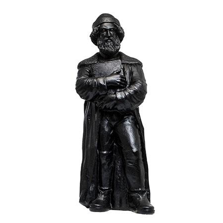 Johannes Gutenberg - 2018 - schwarz