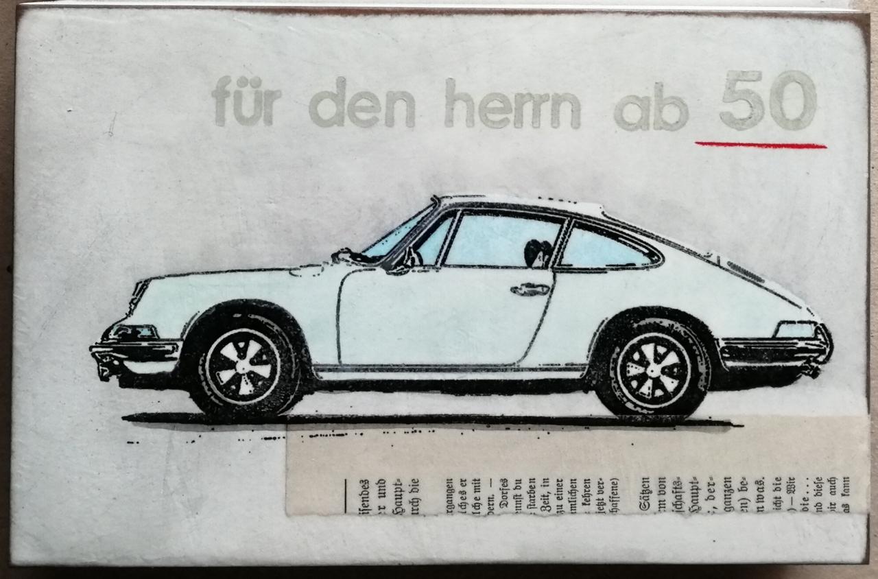 Porschefimmel - Für den Herrn ab 50 - helles grün