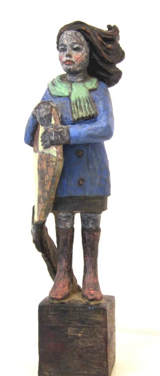 Drachenfrau Bronze 5/9