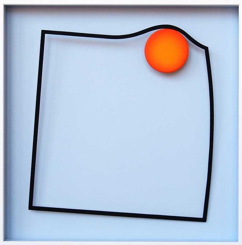 Punkt und Linie 1 (im Quadrat)