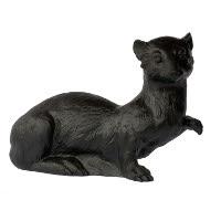 Hermelin - schwarz