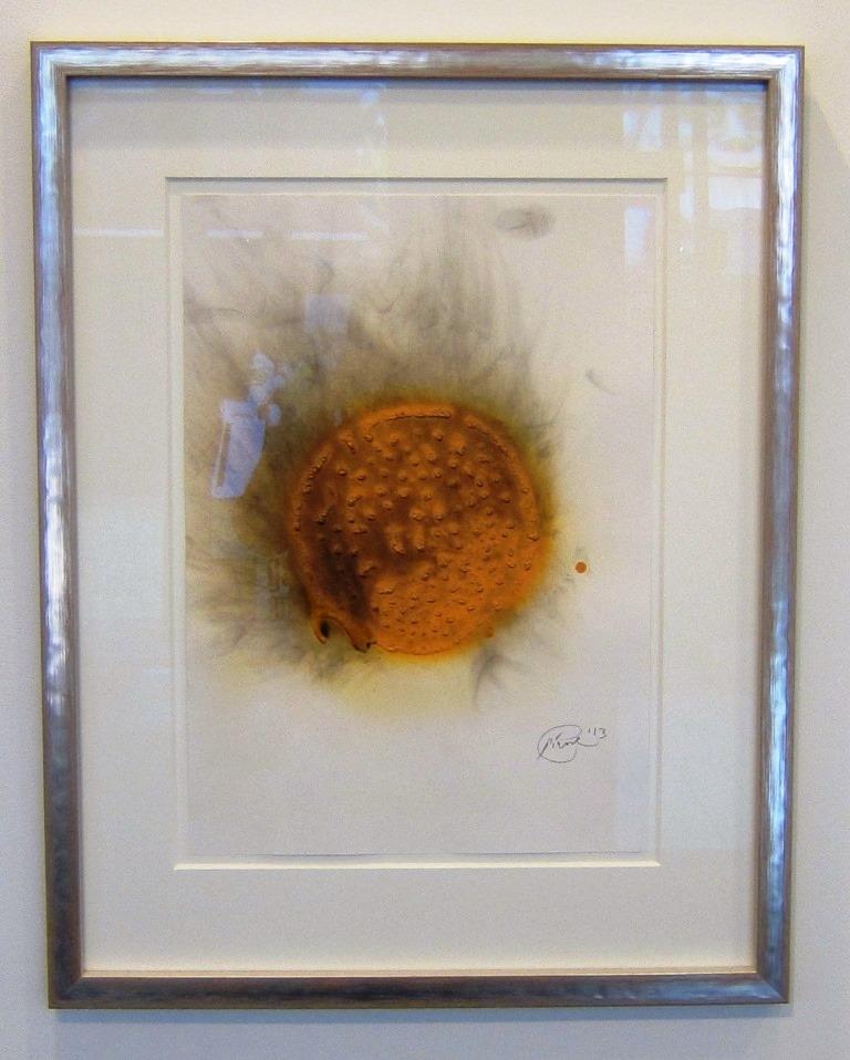 o.T. (Orange Sonne), 2013