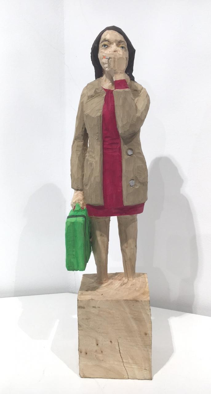 Edekafrau (1237) mit Zigarette