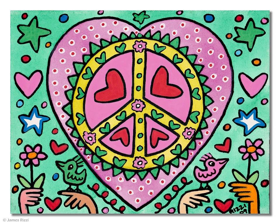 The pink + green love machine