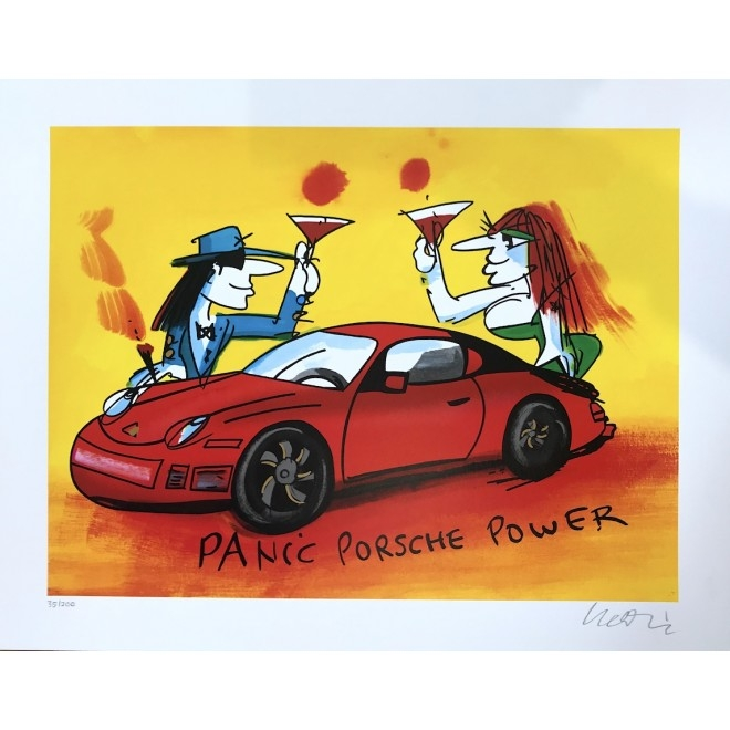 Panic Porsche Power - Grafik 2019