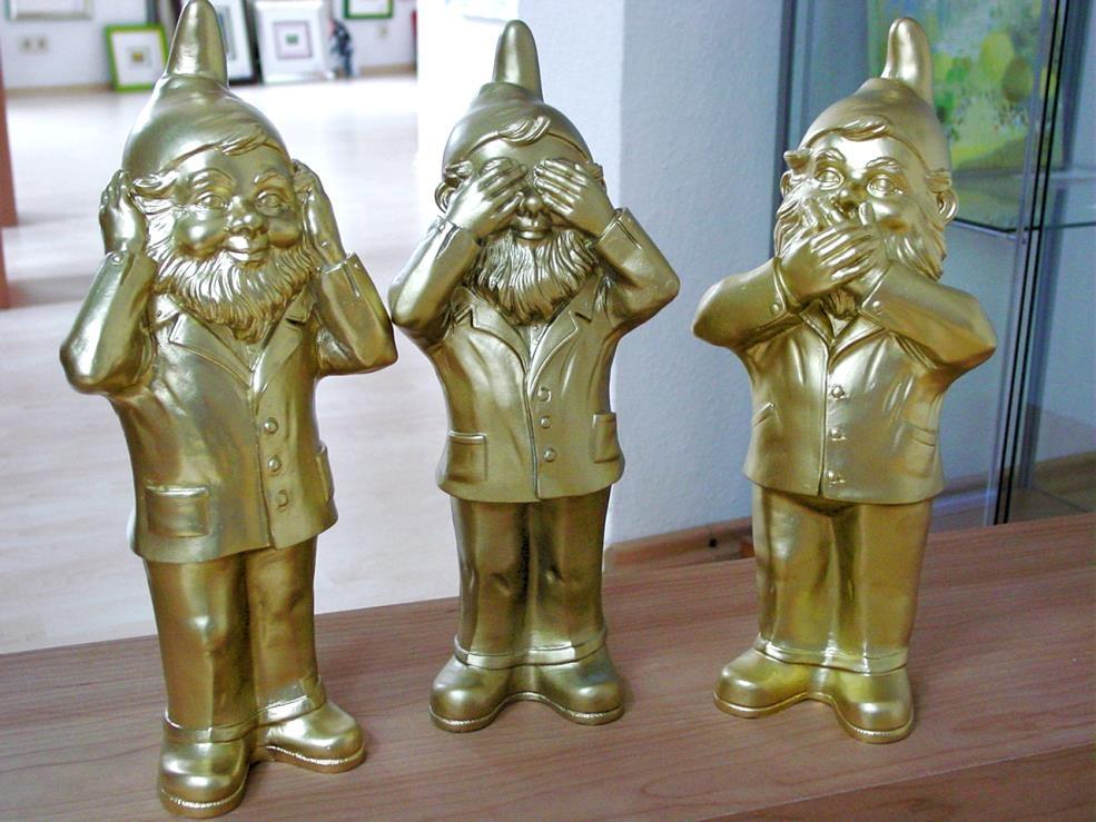 Geheimnisträger - gold