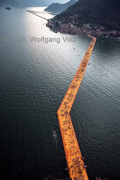 ohne Titel, 2016 (The Floating Piers) - WV 19