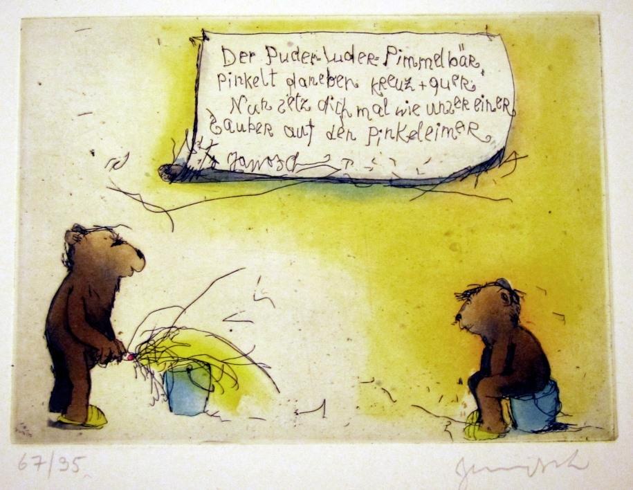 Puderluder Pimmelbär