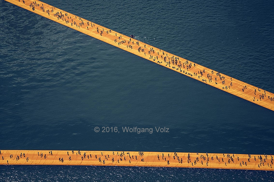 ohne Titel, 2016 (The Floating Piers) - WV 30