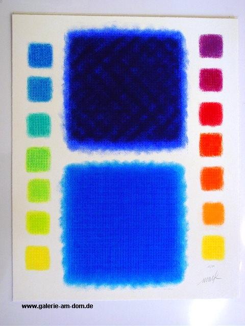 Chromatik blau-blau - Variation