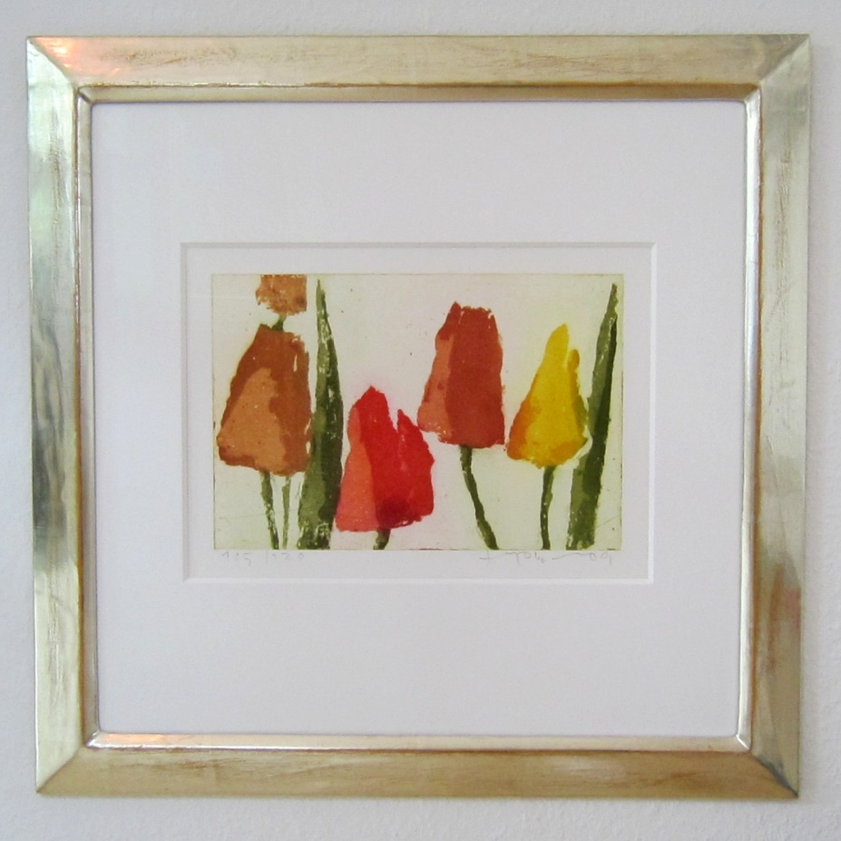 Tulpen 2009 im Vergolderrahmen