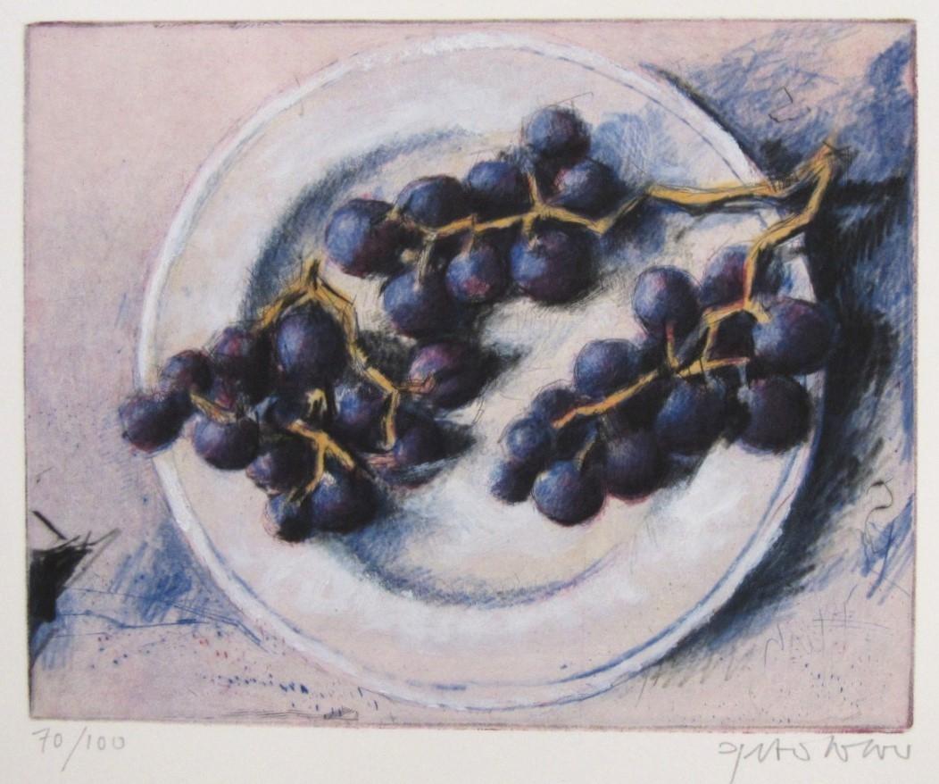 Küche - Weintrauben