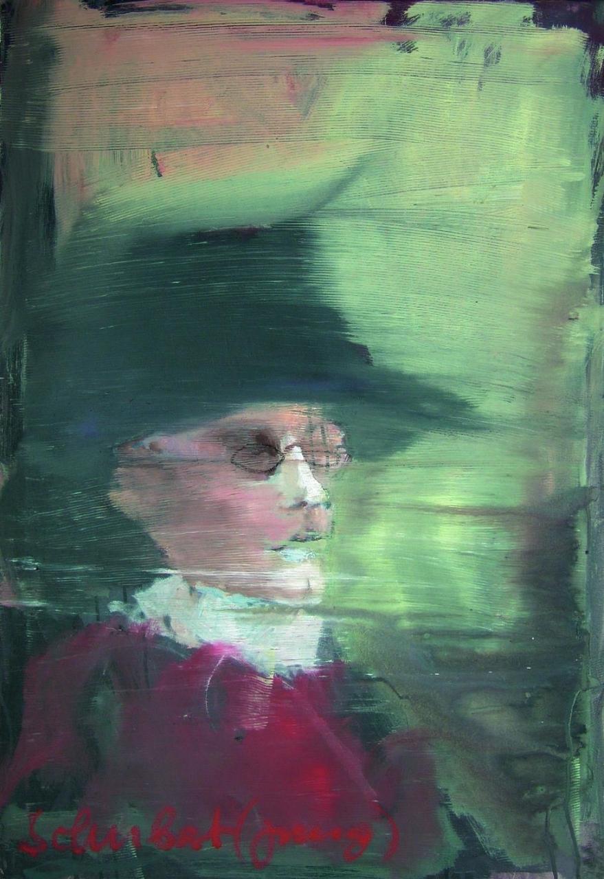 Porträt - Der junge Franz Schubert