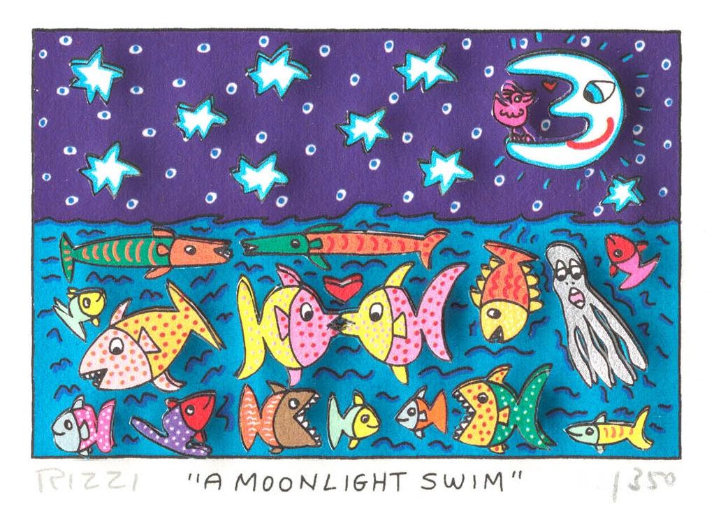A Moonlight Swim