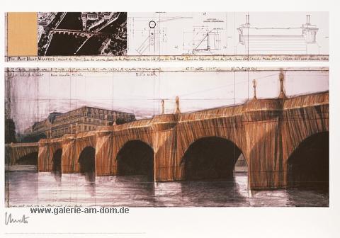 The Pont Neuf Wrapped I