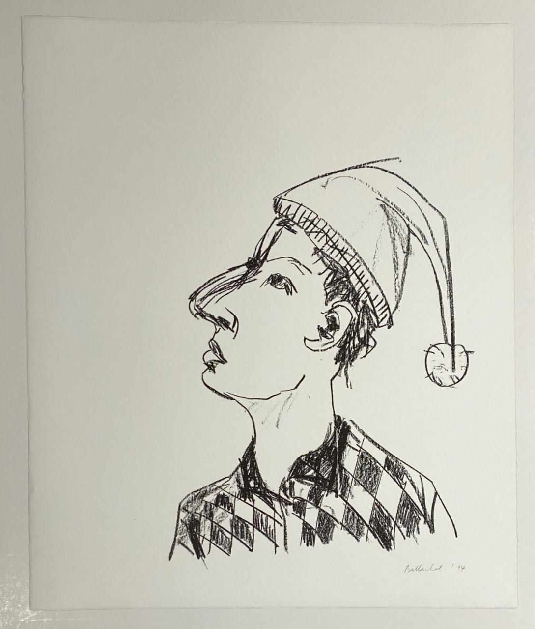 Mann mit Zipfelmütze