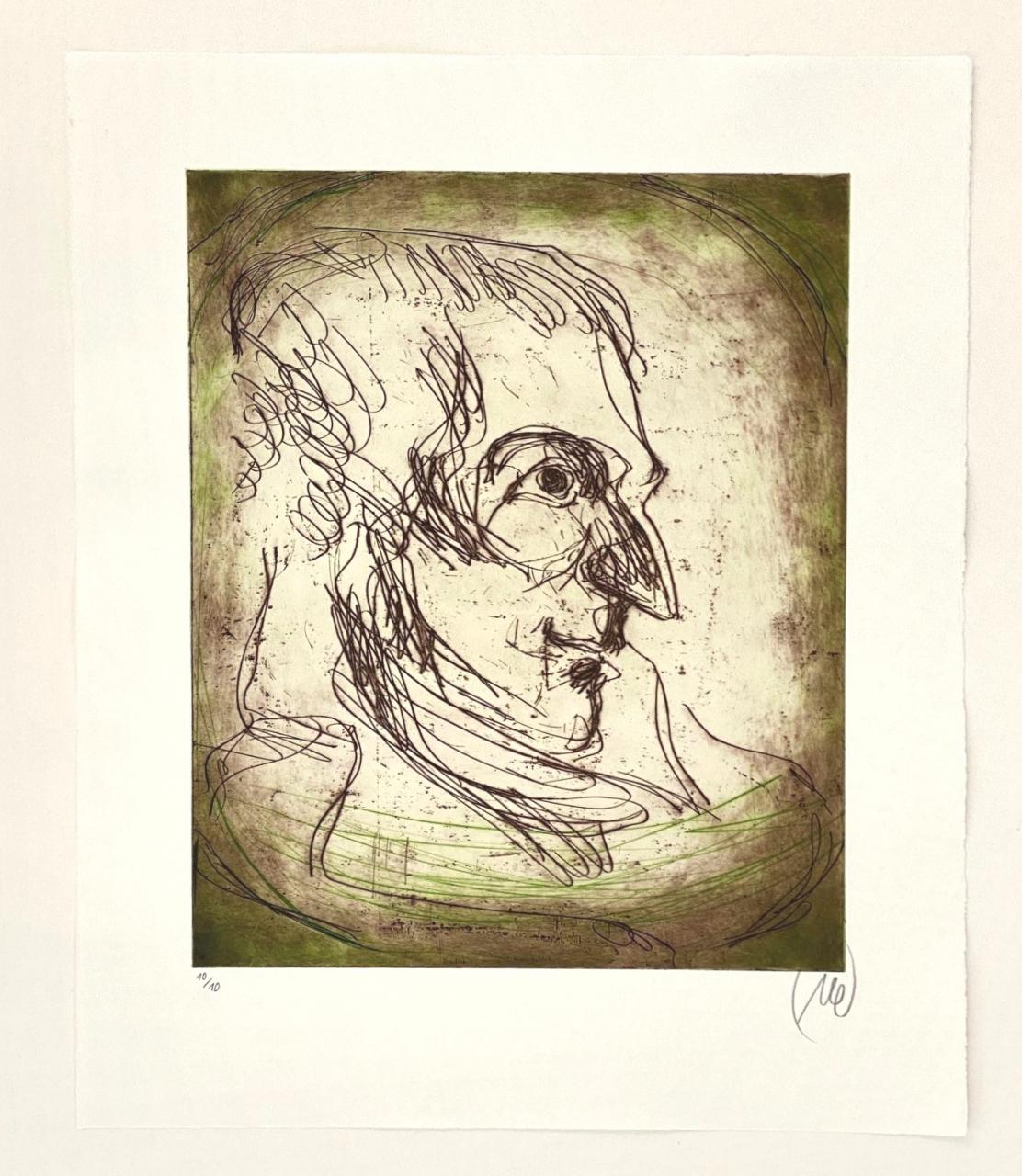 Friedrich Schiller - Variante grün