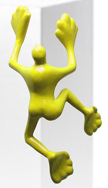 Flossi IX - Kantenflitzer, gelb
