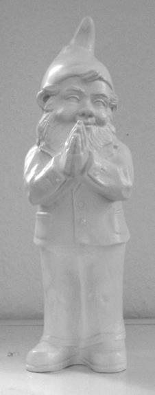 Ben, der betende Zwerg - weiß