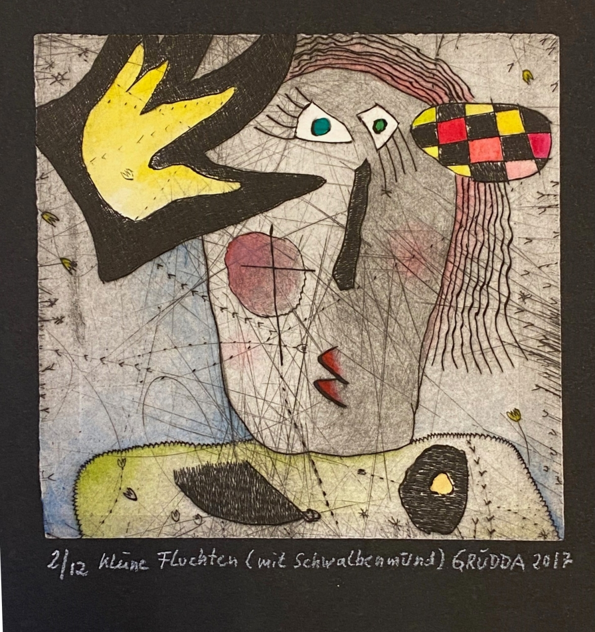 Kleine Fluchten I (mit Schwalbenmund) 2/12