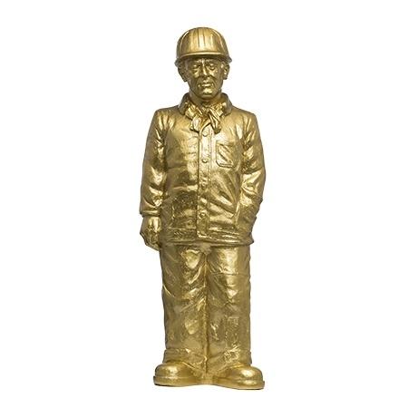 Arbeiter - 2018 - gold, signiert