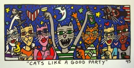 Cats like a good Party