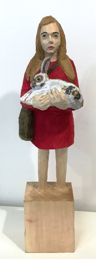 Edekafrau (1186) mit Hase