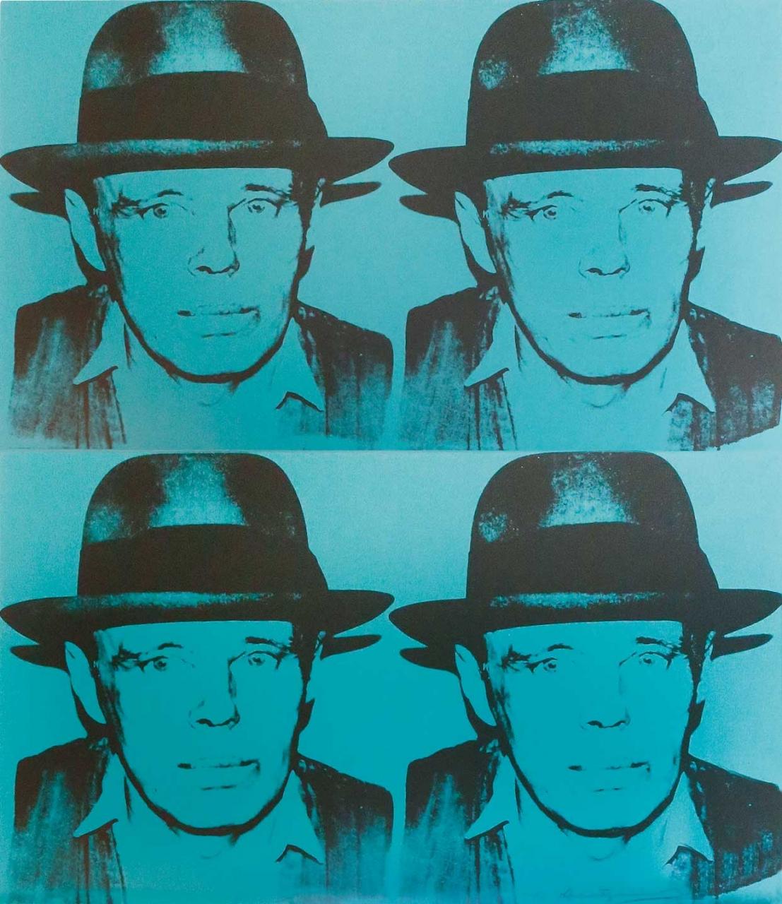 Andy Warhol: Joseph Beuys - State 1