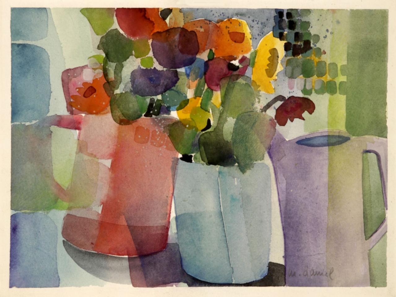Manuela Daniel: Blumen II