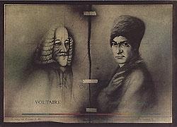 Das bessere ist der Feind des Guten (Voltaire und Rousseau)