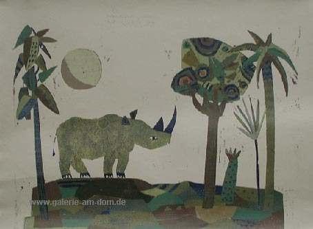 Mondspaziergang (Nashorn)