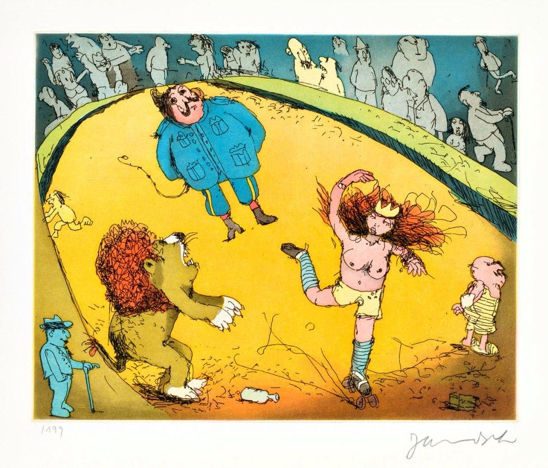 Der Löwe brüllt, es tanzt Marie ...