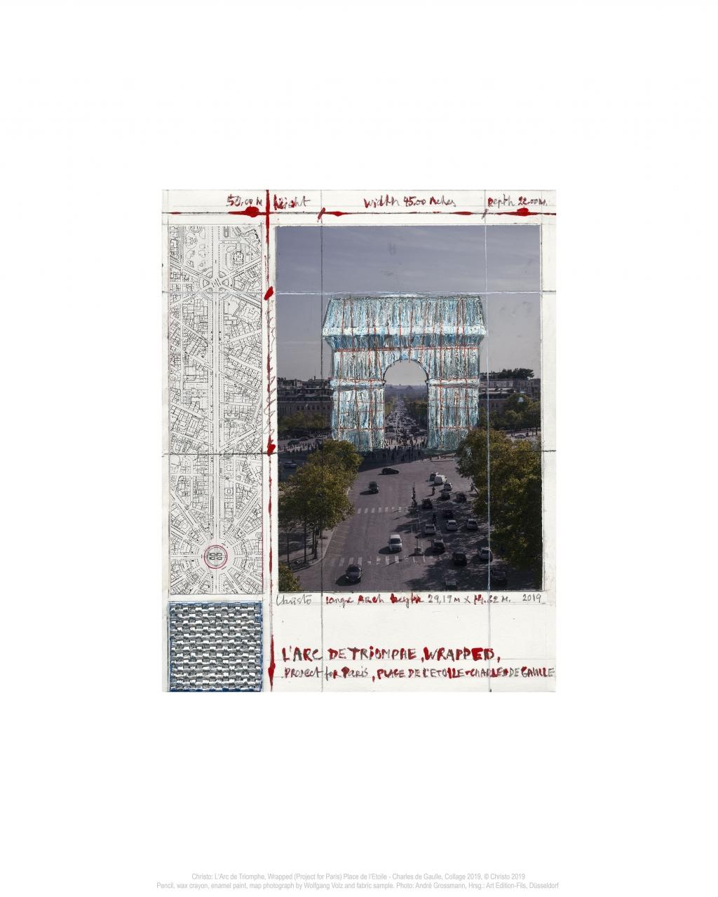L'Arc De Triomphe II, Wrapped