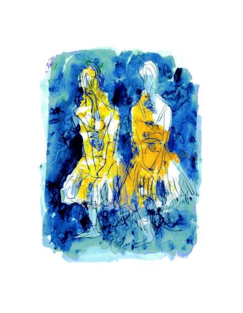 Tänzerinnen (nach Edgar Degas)