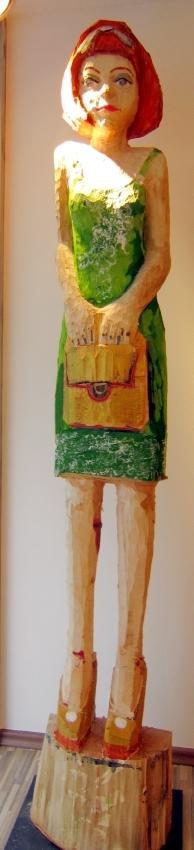Desperate Housewife (im grünen Kleid)