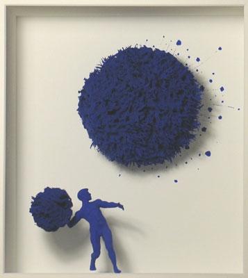 Homage to Yves Klein