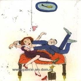 Dann stürzte sich Herr Zinsel auf die Lucie aus Bern