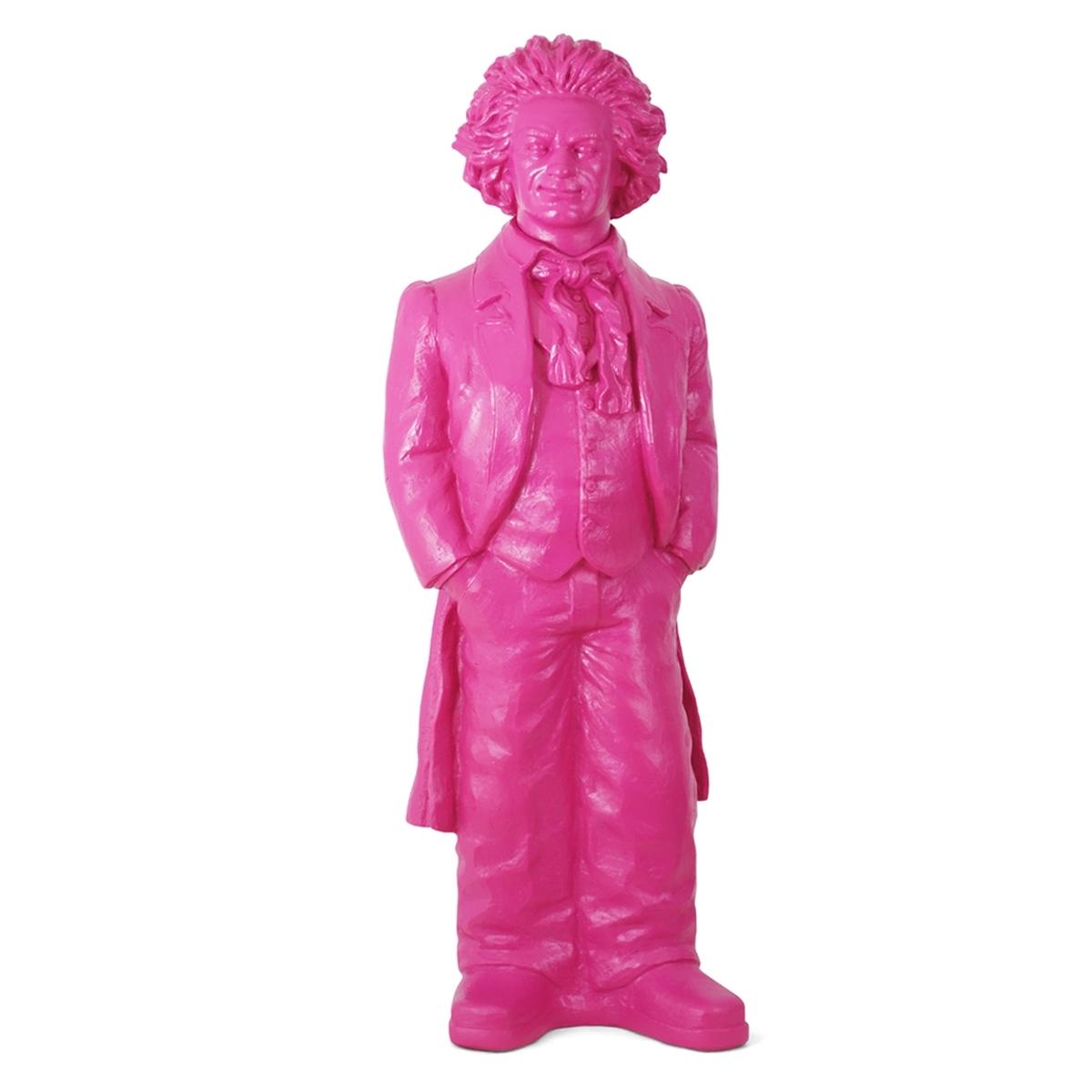 Ludwig van Beethoven - pink, signiert