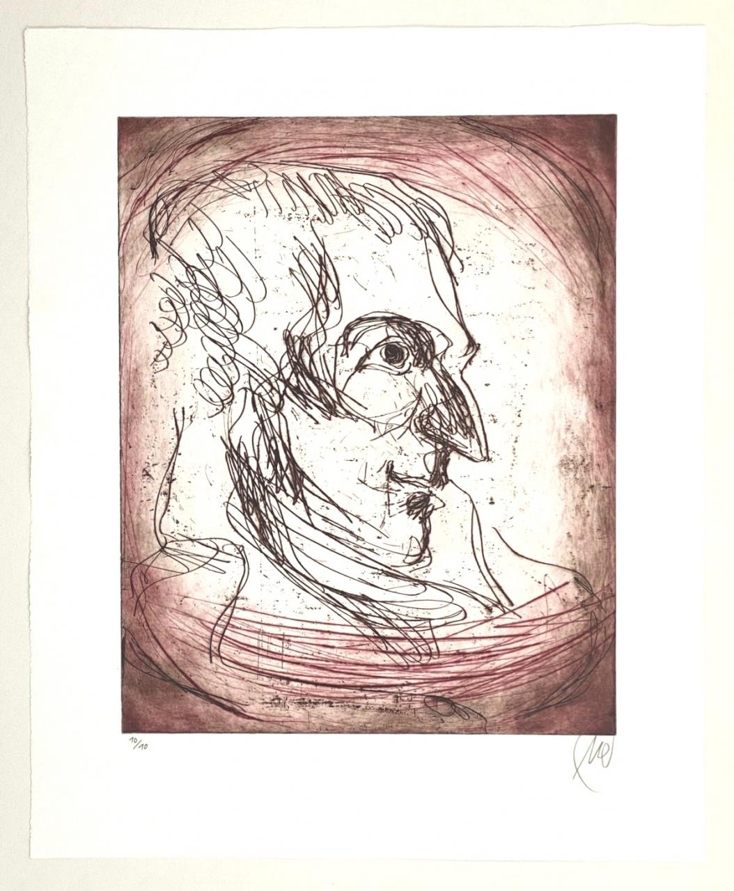 Friedrich Schiller - Variante rot
