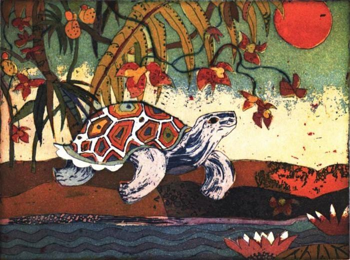 Kleine Schildkröte 2006