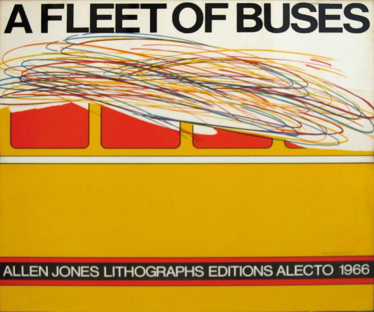 Allen Jones: A Fleet of Buses