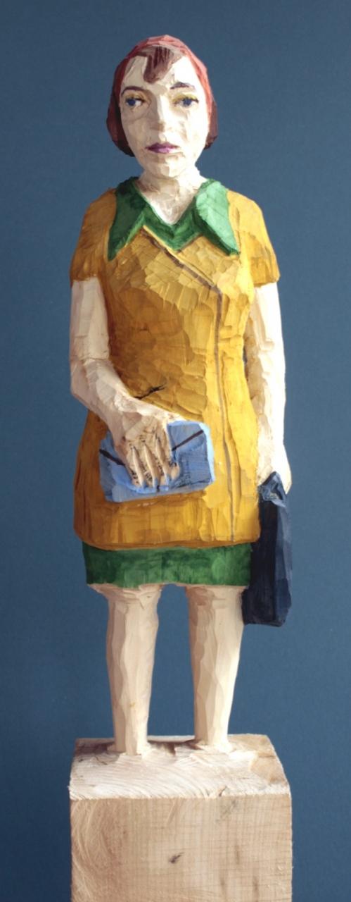 Edekafrau (934) mit blauer Brieftasche