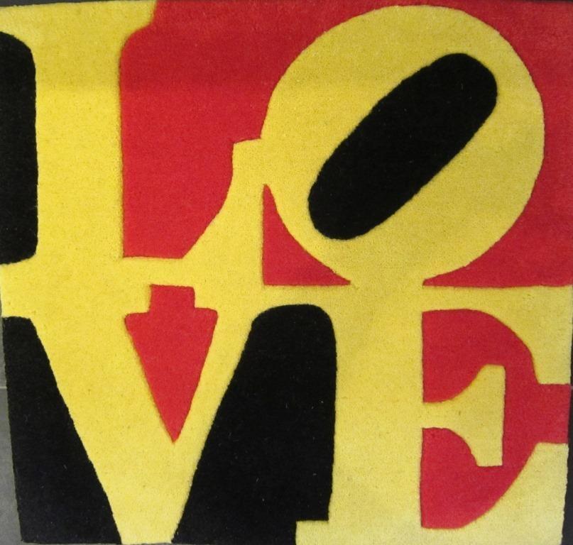 Love, schwarz-rot-gelb